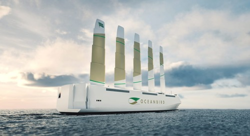 The Oceanbird cargo ship cuts emissions 90% with sails - Fast Company