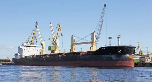 Baltic Index Higher on Demand for Larger Vessels