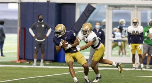 Notre Dame Spring Practice No. 9 Video: Takeaways And Observations