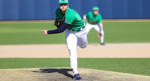 John Michael Bertrand's Unusual Path To Notre Dame Baseball