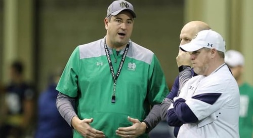 Mike Elston Making Seamless Transition To Recruiting Coordinator