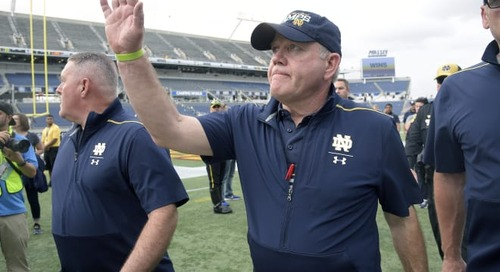 Notre Dame Makes Big Move In 2022 Rivals Recruiting Rankings