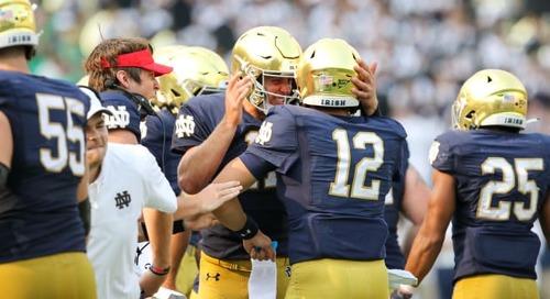 Snap Counts: Toledo vs. Notre Dame