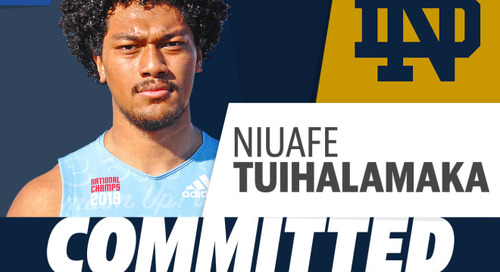 10 Things To Know About New Notre Dame Commit Niuafe Tuihalamaka
