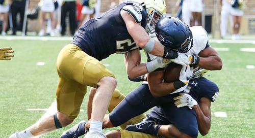 How success at Notre Dame football has been imminent for JD Bertrand