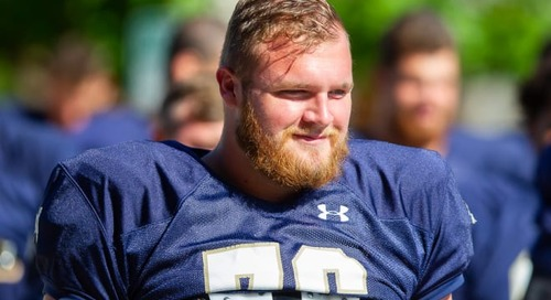 What Dillan Gibbons' Departure Means For Notre Dame's Offensive Line
