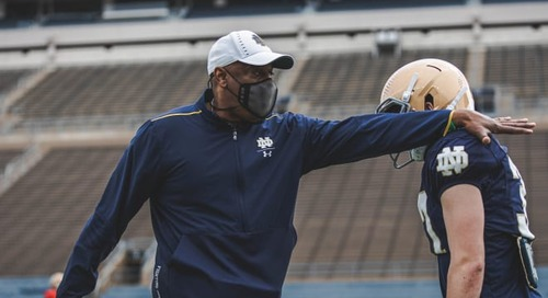 Lucky Charms: Top 2023 WR Target Schedules Notre Dame Visit