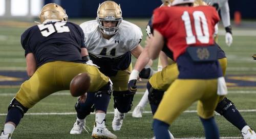 Notre Dame Defensive Line Depth Remains A Prime Strength