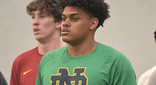 Blue  Gold TV: Holden Staes Talks Notre Dame Commitment