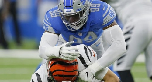 Irish in the NFL: Okwara records first sack, St. Brown stripped of a TD