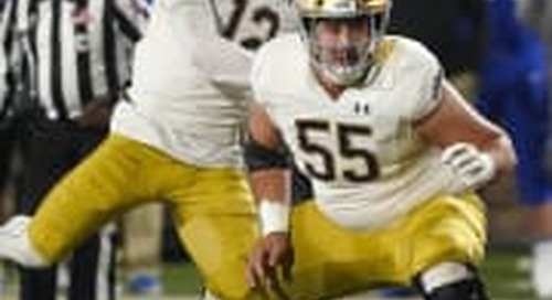Notre Dame 2021 Scholarship Overview: Offensive Line