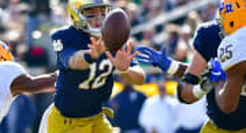 Notre Dame Vs. Pitt: Close Encounters The Norm