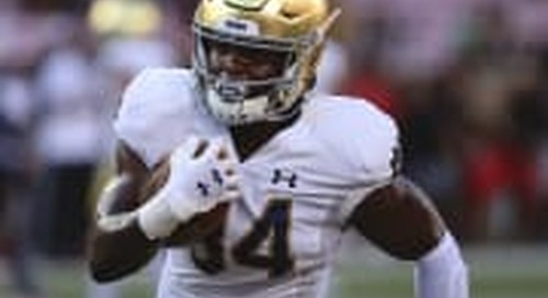 Running Back Jahmir Smith No Longer With Notre Dame Football Team