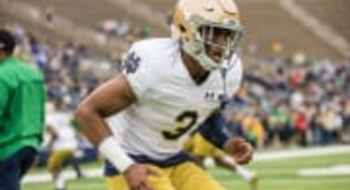 Houston Griffith Pulls Name Out Of Portal, Will Return To Notre Dame