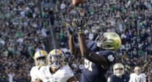 Notre Dame Vs. Pitt: Prime Matchup To Watch