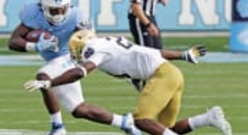 Notre Dame Vs. North Carolina: On Paper