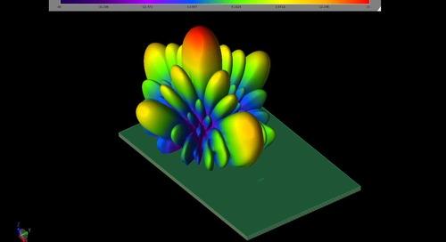 EM Simulation of 140 GHz Antenna Array for 6G Wireless Communication