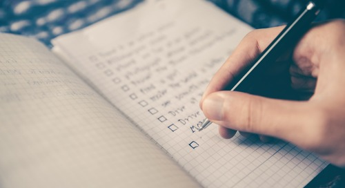 Need a Quick Project Management Fix? Try a Checklist!