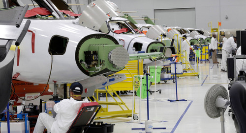 US Manufacturing Contracts for Third Straight Month