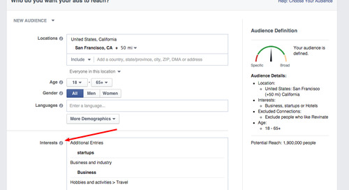 Facebook Ad Targeting for Hotels