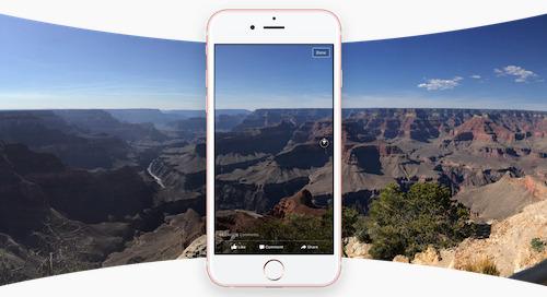 Três maneiras de usar fotos 360 graus do Facebook em seu hotel