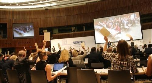L'OSCE vise la sécurité par le développement durable