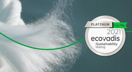 Lenzing von EcoVadis mit Platin-Status für Nachhaltigkeit ausgezeichnet