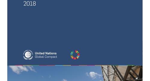 UN Global Compact Progress Report 2018