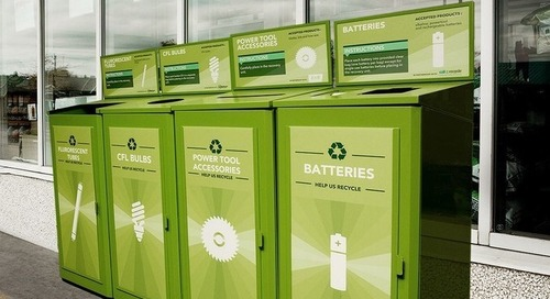 Lowe's Canada Diverted 255,000 Pounds of Batteries from Landfills