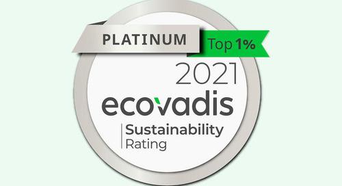 Vattenfall erhält höchstmögliche Auszeichnung für Nachhaltigkeitsbemühungen