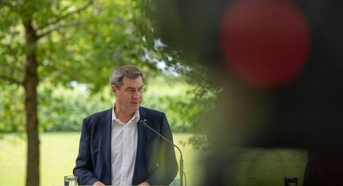 Markus Söder fordert bundesweites Plastiktütenverbot