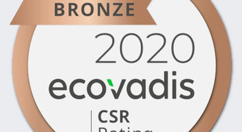 Mersen awarded a Bronze medal for its first CSR EcoVadis assessment