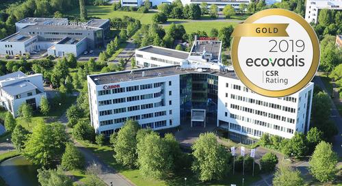 Canon von EcoVadis für Nachhaltigkeit ausgezeichnet