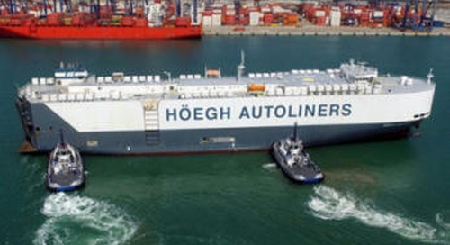 Biofuels - Höegh Autoliners Completes its First Carbon Neutral Voyage