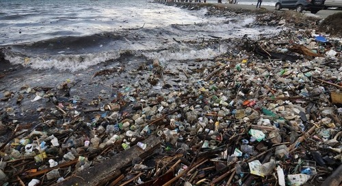 Ineffective recycling compounds Indonesia's marine waste problem - National