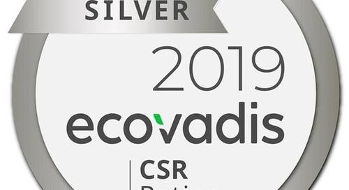 Für besondere Nachhaltigkeitsleistung: EcoVadis-Zertifikat in Silber für Liebherr