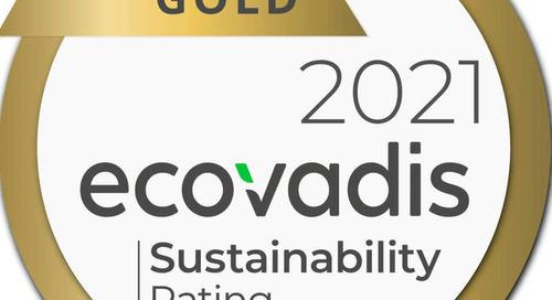 Ricoh erhält Gold-Auszeichnung von EcoVadis