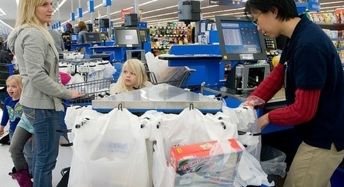 Walmart unveils plan to reduce plastic packaging waste