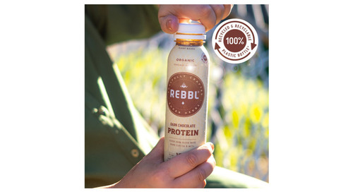 Organic Beverage Brand REBBL Takes Sustainability to a New Level with 100% Recycled and Recyclable Bottles