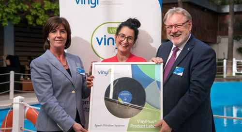"""VinylPlus launches """"game changing"""" sustainability mark for PVC building and construction products"""