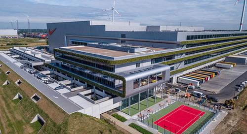 Nike opens warehouse running on 100% renewable energy