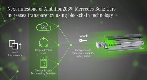 Procurement a priority in Mercedes' sustainability plan