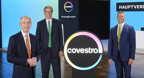 Covestro richtet sich voll auf Kreislaufwirtschaft aus