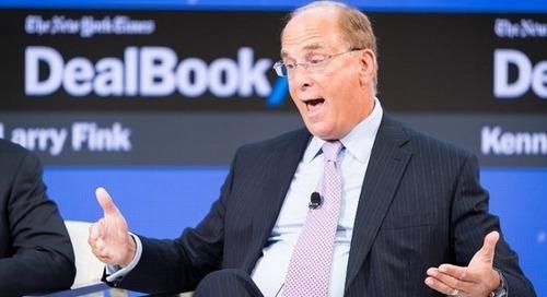 Larry Fink veut engager BlackRock, le plus grand gestionnaire d'actifs au monde, vers des investissements plus durables