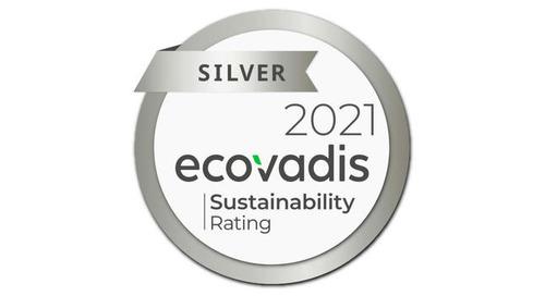 Engagement von INNIO für globale Nachhaltigkeit von EcoVadis mit der renommierten Silber-Medaille ausgezeichnet