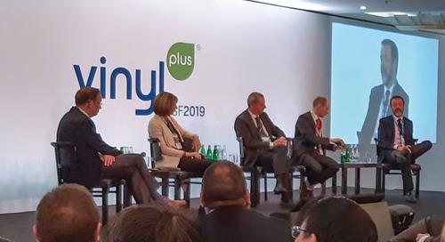 Économie circulaire VinylPlus : l'industrie du PVC en ligne avec ses objectifs de recyclage pour 2025
