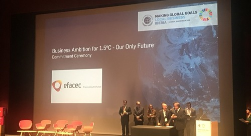 Efacec joins the world's largest business sustainability initiatives