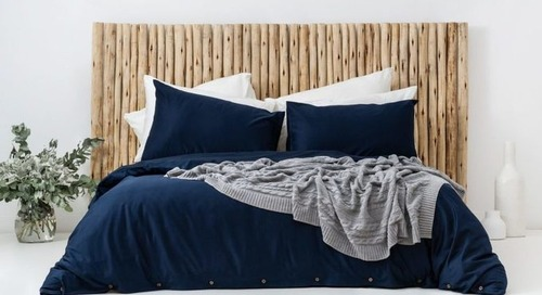 Bhumi Ethically Made 100% Organic Cotton Bed Sheets