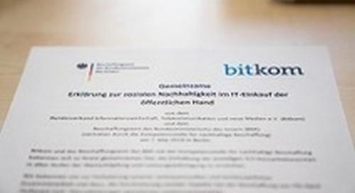 Neue Verpflichtungserklärung zur Einhaltung sozialer Standards in ITK-Branche