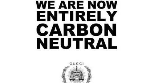 Luxe : Gucci annonce sa neutralité carbone